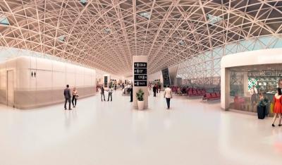 360-VR Nueva Terminal Internacional Mexico