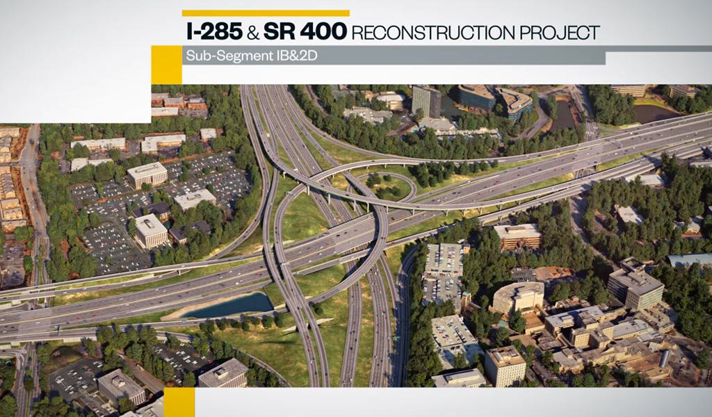I-285/SR400, Atlanta
