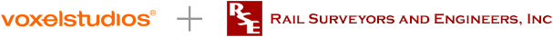 voxelstudios + Rail Surveyor and Engineers, Inc.